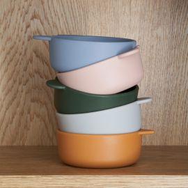 Iggy silicone bowls - 4-pack - Tuscany rose mix