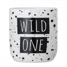 Jar, White, Ceramic